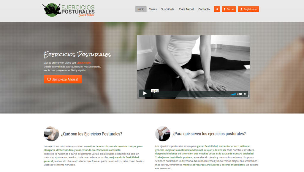 web ejercicios posturales