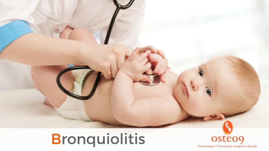 Dificultats respiratòries en nens i nadons: la bronquiolitis