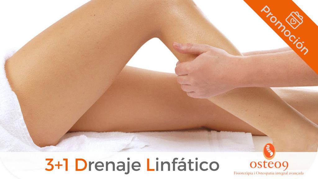 Promoción 3+1: Drenaje Linfático para piernas cansadas