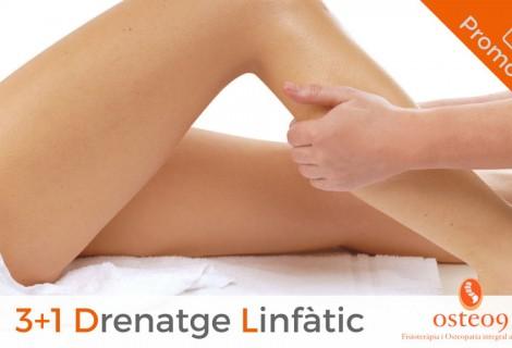 Promoció 3+1: Drenatge Limfàtic per a cames cansades