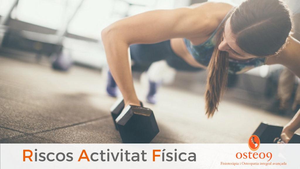 Quan l'activitat física posa la salut en ric