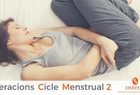 Alteracions del cicle menstrual – 2