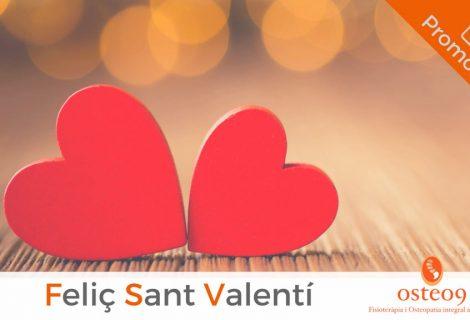 Per Sant Valentí, et mereixes el  millor regal.