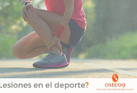 Fisioterapia y osteopatía para deportistas