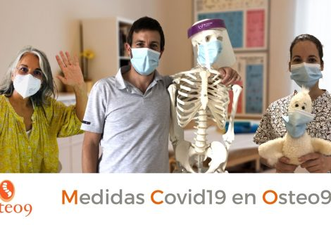 Medidas Covid-19 en Osteo9