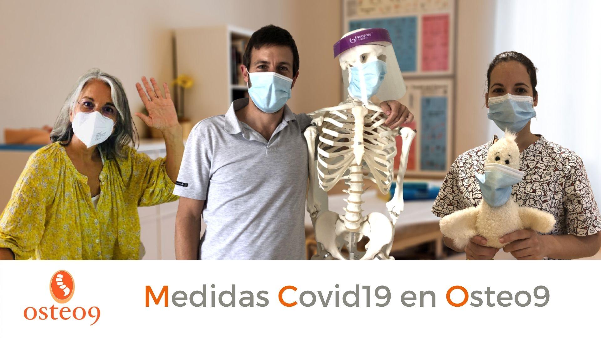 Mesures Covid-19 a Osteo9