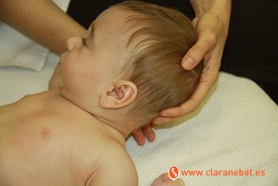 osteopatía cólicos del lactante craneo