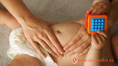 ostepatía cólicos del lactante abdomen