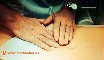 Tractament d'osteopatia per a l'endometriosi