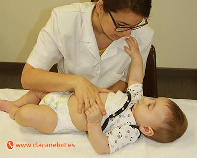 ¿Qué puede hacer la osteopatía por el bebé con cólicos del lactante?